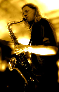 Tutor Dave Ford on sax